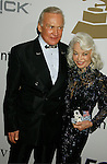 BEVERLY HILLS, CA. - February 07: Astronaut Buzz Aldrin and wife Lois Aldrin arrive at the 2009 GRAMMY Salute To Industry Icons honoring Clive Davis at the Beverly Hilton Hotel on February 7, 2009 in Beverly Hills, California.