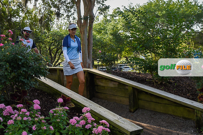 Azahara Munoz (ESP) makes her way to the tee on 11 during round 2 of the 2019 US Women's Open, Charleston Country Club, Charleston, South Carolina,  USA. 5/31/2019.<br /> Picture: Golffile | Ken Murray<br /> <br /> All photo usage must carry mandatory copyright credit (© Golffile | Ken Murray)