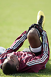 20 November 2010: Anthony Wallace. Colorado Rapids held a practice at BMO Field in Toronto, Ontario, Canada as part of their preparations for MLS Cup 2010, Major League Soccer's championship game.