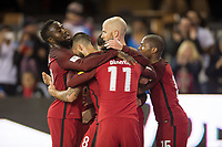 San Jose, Ca - Friday March 24, 2017: Jozy Altidore Michael Bradley during the USA Men's National Team defeat of Honduras 6-0 during their 2018 FIFA World Cup Qualifying Hexagonal match at Avaya Stadium.