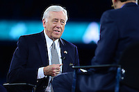 Washington, DC - March 21, 2016: House Democratic Whip Steny Hoyer participates in a panel discussion during the AIPAC Policy Conference at the Verizon Center in the District of Columbia, March 21, 2016. AIPAC is engaged in promoting and protecting the U.S.-Israel relationship to enhance security for both countries. (Photo by Don Baxter/Media Images International)