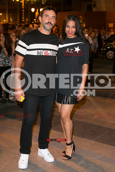 Roberto Tisci and US singer Ciara attends the party of Nike and Roberto Tisci at the Casino in Madrid, Spain. September 15, 2014. (ALTERPHOTOS/Carlos Dafonte) /NortePhoto.com