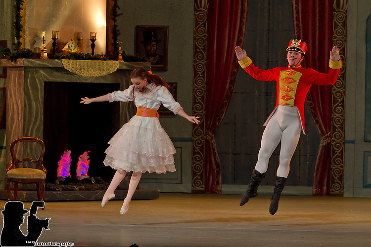 """Nevada Ballet performance of """"The Nutcracker"""" held at Paris Las Vegas with special guest performer Holly Madison"""