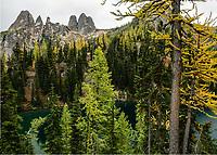 Blue Lake, North Cascades National Park