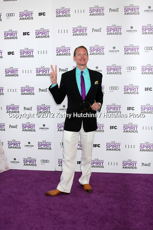 LOS ANGELES - FEB 25:  Carson Kressley arrives at the 2012 Film Independent Spirit Awards at the Beach on February 25, 2012 in Santa Monica, CA.