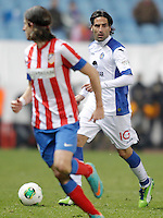 Getafe's Juan Rodriguez during King's Cup match. December 13, 2012. (ALTERPHOTOS/Alvaro Hernandez) /NortePhoto