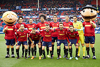 Osasuna  during the Spanish la League soccer match between CA Osasuna and Real Oviedo at Sadar stadium, in Pamplona, Spain, on Saturday, <br /> May 12, 2018.