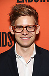 Andrew Keenan-Bolger attends the Opening Night performance of 'A Parallelogram'  at The Second Stage Theatre on August 2, 2017 in New York City.