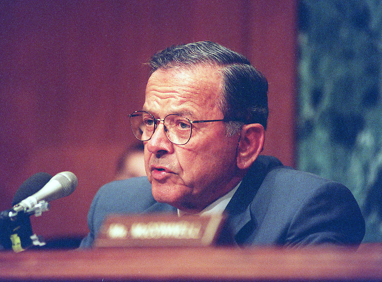 10/21/97.NATO ENLARGMENT COASTS:Chairman Ted Stevens,R-Alaska,makes his opening statment at the Senate Appropriations committee hearings on the proposed enlargement of the NATO alliance..CONGRESSIONAL QUARTERLY PHOTO BY DOUGLAS GRAHAM