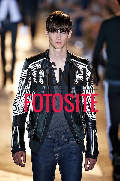 Milao, Italia &ndash; 06/2014 - Desfile de Diesel Black Gold durante a Semana de moda masculina de Milao - Verao 2015. <br /> Foto: FOTOSITE