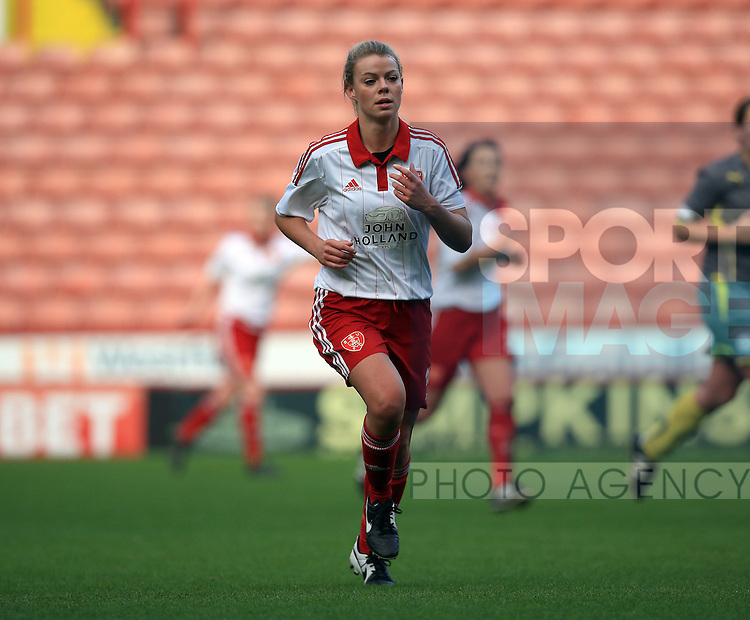 Sheffield United Ladies' Annalise Carroll in action during the FA Women's Cup First Round match at Bramall Lane Stadium, Sheffield. Picture date: December 4th, 2016. Pic Clint Hughes/Sportimage