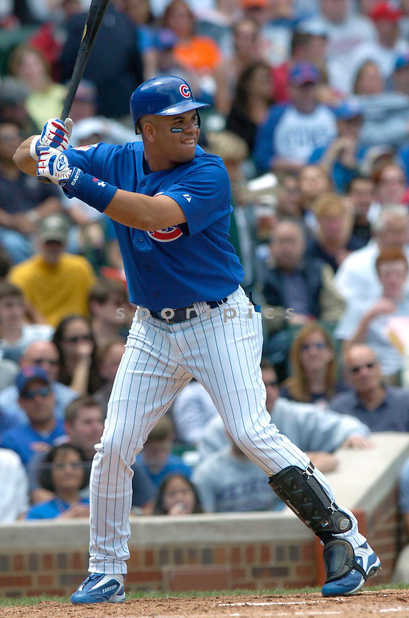 Aramis Ramirez of the Chicago Cubs in action against the Colorado Rockies. ....Cubs lost 2-5.....David Durochik / SportPics..