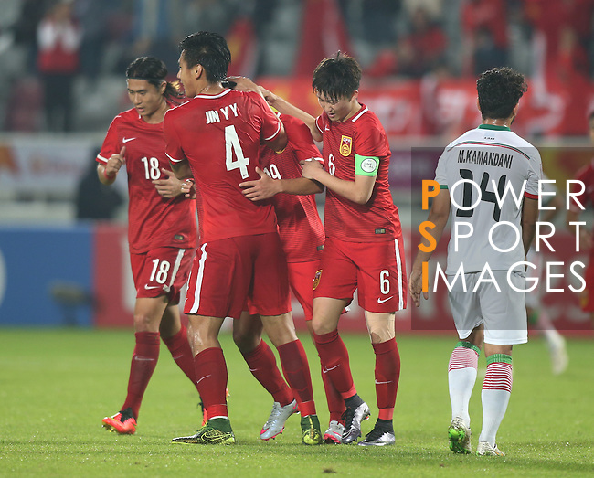 IR Iran vs China PR during the AAFC U23 Championship 2016 Group A match on January 18, 2016 at the Abdullah Bin Khalifa Stadium in Doha, Qatar. Photo by Karim Jaafar / Lagardère Sports