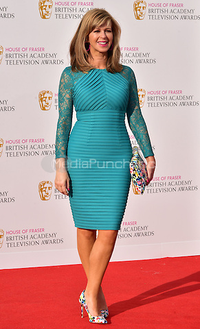 LONDON, ENGLAND - MAY 08: Kate Garraway at he British Academy (BAFTA) Television Awards 2016, Royal Festival Hall, Belvedere Road, London, England, UK, on Sunday 08 May 2016.<br /> CAP/JOR<br /> &copy;JOR/Capital Pictures /MediaPunch ***NORTH AMERICA AND SOUTH AMERICA ONLY***