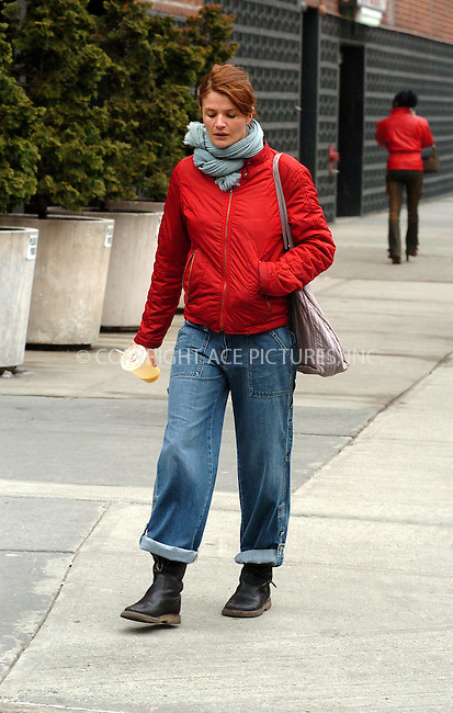 WWW.ACEPIXS.COM . . . . .***EXCLUSIVE!!! FEE MUST BE NEGOTIATED BEFORE USE!!!*** ....NEW YORK, MARCH 25, 2005....Helena Christensen seen walking downtown on a blustery March day.....Please byline: Philip Vaughan -- ACE PICTURES.... *** ***..Ace Pictures, Inc:  ..Craig Ashby (212) 243-8787..e-mail: picturedesk@acepixs.com..web: http://www.acepixs.com