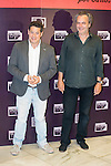 Actor Jorge Sanz and actor Jose Coronado attends the presentation of One Night Only: Pulp Ficition at Cines Capitol in Madrid, Spain. June 22, 2015.<br />  (ALTERPHOTOS/BorjaB.Hojas)