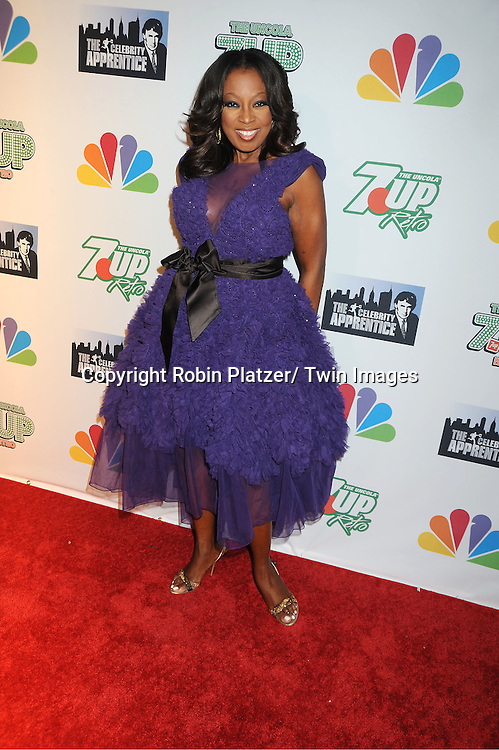 "Star Jones posing for photographers at ""The Celebrity Apprentice"".Season Four Finale Party on May 22, 2011 at The Trump Soho Hotel in New York City."