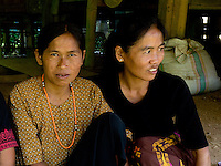 guests at a traditional funeral in a village in Toraja land, Sulawesi, Indonesia
