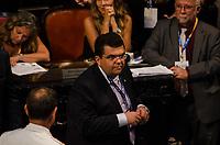 RIO DE JANEIRO, RJ, 01.02.2019 – POLITICA-RJ – Posse do candidato eleito ao cargo de deputada estadual do Estado do Rio de Janeiro, Chico Machado, toma posse hoje no plenário da Assembleia Legislativa do Estado do Rio de Janeiro (Alerj), nesta sexta-feira (01).(Foto: Vanessa Ataliba/ Brazil Photo Press/folhapress)
