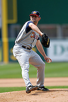 Pitcher Duane Below of the Toledo Mud Hens during a game versus the Pawtucket Red Sox on May 3, 2011 at McCoy Stadium in Pawtucket, Rhode Island. Photo by Ken Babbitt /Four Seam Images