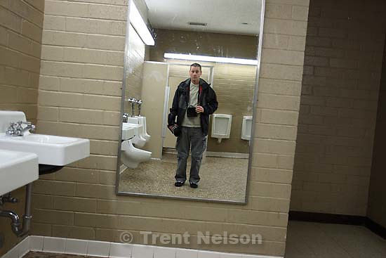 trent nelson in mirror<br />