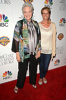 LOS ANGELES - DEC 4:  Lee Meriwether, Lesley Aletter at the Dolly Parton's Coat Of Many Colors at the Egyptian Theater on December 4, 2015 in Los Angeles, CA