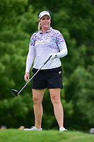 Brittany Lincicome (USA) watches her tee shot on 8 during Thursday's first round of the 72nd U.S. Women's Open Championship, at Trump National Golf Club, Bedminster, New Jersey. 7/13/2017.<br /> Picture: Golffile | Ken Murray<br /> <br /> <br /> All photo usage must carry mandatory copyright credit (&copy; Golffile | Ken Murray)