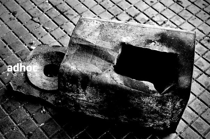 AFE-ESTACION ARTIGAS. Montevideo, 15/08/2013. Pasiva frontal de la estacion Artigas, de AFE.<br /> Foto: Ricardo Antunez<br /> URUGUAY<br /> 2013