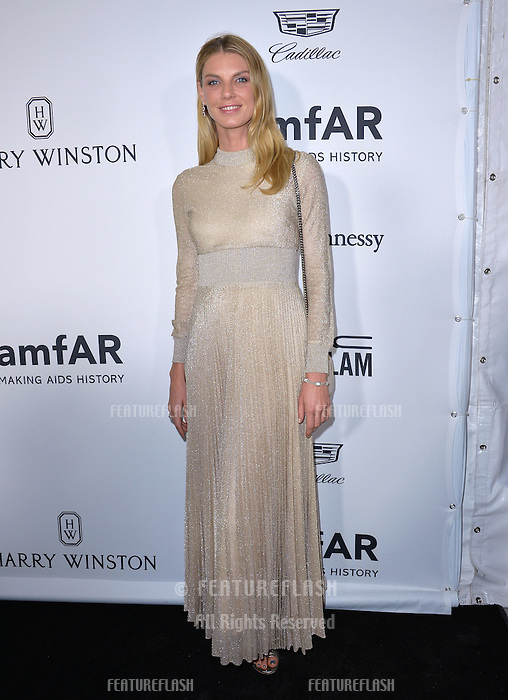 LOS ANGELES, CA. October 27, 2016: Angela Lindvall at the 2016 amfAR Inspiration Gala at Milk Studios, Los Angeles.<br /> Picture: Paul Smith/Featureflash/SilverHub 0208 004 5359/ 07711 972644 Editors@silverhubmedia.com