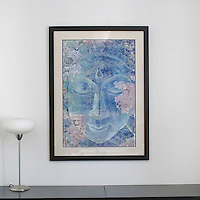 "Dalton: Buddha Ornate, Digital Print, Image Dims. 33.5"" x 22.5"", Framed Dims. 42.75"" x 31.75"""