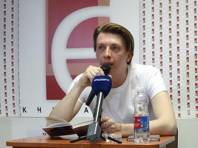 Markijan Kamysch, Schriftsteller und Stalker in der Tschernobyl-Zone, geboren 1988 in Kiew.