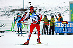 Orhangazi Civil (TUR)  competes during the 20 km Individual Biathlon race as part of the Winter Universiade Trentino 2013 on 15/12/2013 in Lago Di Tesero, Italy.<br /> <br /> &copy; Pierre Teyssot - www.pierreteyssot.com