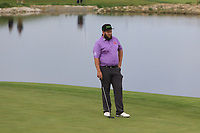 Andrew Johnston (ENG) on the 12th green during Round 2 of the Open de Espana 2018 at Centro Nacional de Golf on Friday 13th April 2018.<br /> Picture:  Thos Caffrey / www.golffile.ie<br /> <br /> All photo usage must carry mandatory copyright credit (&copy; Golffile | Thos Caffrey)