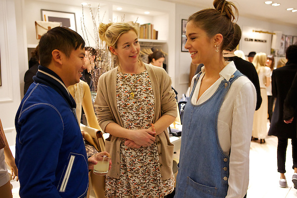 Tommy Ton, Zoe Kuipers and Quentin Jones