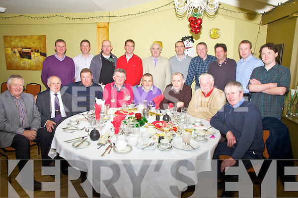 The Kerry Forestry Society held their Christmas Party at The Ring of Kerry Hotel Cahersiveen on Friday night last, pictured front l-r; Sean Galvin, Tom Prendergast, Sean Moran, Connie O'Shea, Pat Joy, James O'Sullivan, Denis Dineen, Larry Kelly, back l-r; Dermot Fenton, Kieran Nugent, Tom Houlihan, Conor Daly, Denis O'Sullivan, Gerard Moroney, Tom Hanrahan, Eugene Curran, Kieran O'Connell & Pól Ó Donocha.