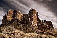 The Great House, once home to hundreds of people at Pueblo Pintado, an outlier of Chaco Canyon.