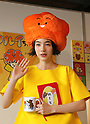 """November 20, 2016, Tokyo, Japan - Japanese actress Rena Nonen, now called Non, displays her designed character goods of """"Warui-chan"""" at the launching ceremony in Tokyo on Sunday, November 20, 2016. Some 100 people queue up to buy her character goods at Tokyo's Kiddyland toy store.   (Photo by Yoshio Tsunoda/AFLO) LWX -ytd-"""