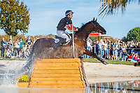 NZL-James Avery rides Mr Sneezy during the Cross Country for the CCI5*-L. Les 5 Etoiles de Pau. Pyrenees Atlantiques. France. Saturday 26 October. Copyright Photo: Libby Law Photography