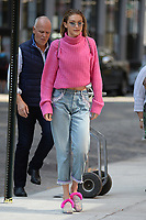 www.acepixs.com<br /> September 11, 2017 New York City<br /> <br /> Gigi Hadid seen in New York City on September 11, 2017.<br /> <br /> Credit: Kristin Callahan/ACE Pictures<br /> <br /> Tel: 646 769 0430<br /> Email: info@acepixs.com