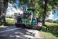 Høstarbejde ved Bregentved Gods ved Haslev på Sjælland. Foto: Jens Panduro