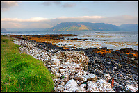 BNPS.co.uk (01202 558833)<br /> Pic: KnightFrank/BNPS<br /> <br /> A coastal path goes around the island, with views over neighbouring Mull....<br /> <br /> How the Ulva half live - Escape to your own Scottish island..If you have &pound;4.25 million to spare.<br /> <br /> This stunning Scottish island that inspired writers including Beatrix Potter and Sir Walter Scott has just gone on the market.<br /> <br /> Ulva is the second largest island of the Inner Hebrides at 4,583 acres, but the new owners will have to be happy going back to basics as it can only be reached by ferry, has no tarmac roads and just 16 people live there, mostly farmers.<br /> <br /> It is described by agents Knight Frank as one of the finest private islands in northern Europe and is on the market for the first time in more than 70 years.<br /> <br /> The sale includes a seven-bedroom house, a church, a restaurant and tea room, and eight other properties. There are also farm buildings to support the agricultural and livestock operation.