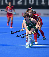 Ireland's Alison Meeke<br /> <br /> Photographer Hannah Fountain/CameraSport<br /> <br /> Vitality Hockey Women's World Cup - Ireland v Spain - Saturday 4th August 2018 - Lee Valley Hockey and Tennis Centre - Stratford<br /> <br /> World Copyright &copy; 2018 CameraSport. All rights reserved. 43 Linden Ave. Countesthorpe. Leicester. England. LE8 5PG - Tel: +44 (0) 116 277 4147 - admin@camerasport.com - www.camerasport.com