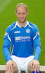 St Johnstone FC...Season 2011-12.Steven Anderson.Picture by Graeme Hart..Copyright Perthshire Picture Agency.Tel: 01738 623350  Mobile: 07990 594431