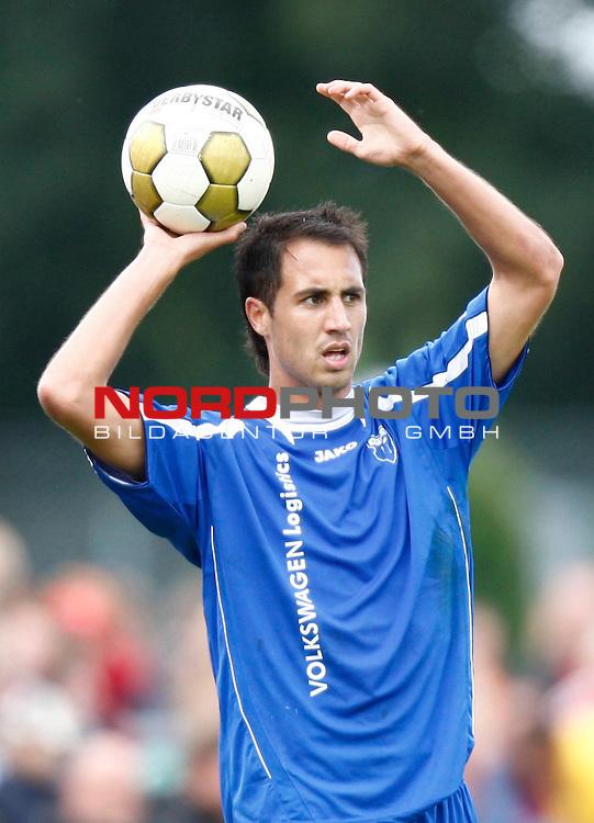 FBL  2008/2009  Testspiel<br /> Werder Bremen - Kickers Emden in Leer-Loga<br /> Andy N&scaron;gelein (Kickers #22)<br /> Foto &copy; nph (  nordphoto  )<br /> <br /> <br /> <br />  *** Local Caption ***