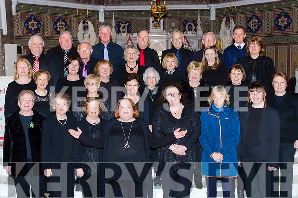 Ailish Walsh and the Castleisland Choir who will be travelling to Dublin in February to record a mass for RTE