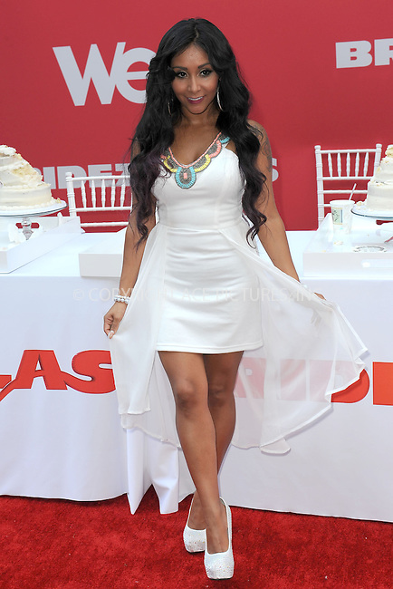 WWW.ACEPIXS.COM . . . . . <br /> May 30, 2013...New York City....TV personality Nicole 'Snooki' Polizzi hosts WE TV's 'Bridezillas' kick off of it's 10th anniversary and final season with a cake eating competition on May 30, 2013 in New York City. ....Please byline: Kristin Callahan....WWW.ACEPIXS.COM.. . . . . . ..Ace Pictures, Inc: ..tel: (212) 243 8787 or (646) 769 0430..e-mail: info@acepixs.com..web: http://www.acepixs.com