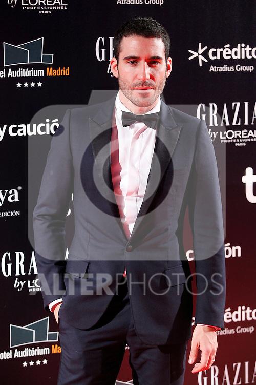Actor Miguel Angel Silvestre attends Goya Cinema Awards 2014 red carpet at Centro de Congresos Principe Felipe on February 9, 2014 in Madrid, Spain. (ALTERPHOTOS/Victor Blanco)
