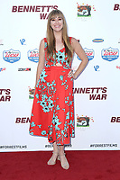 """LOS ANGELES - AUG 13:  Andrea Bowen at the """"Bennett's War"""" Los Angeles Premiere at the Warner Brothers Studios on August 13, 2019 in Burbank, CA"""