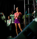 Amber Rose Attends at Wiz Khalifa with Special Guests Big Sean and Chevy Woods, Central Park SummerStage, NY 7/25/11