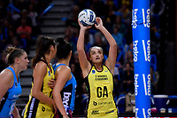 Pulse&rsquo; Tiana Metuarau in action during the ANZ Premiership - Pulse v Steel at Te Rauparaha Arena, Porirua, New Zealand on Wednesday 30 May 2018.<br /> Photo by Masanori Udagawa. <br /> www.photowellington.photoshelter.com